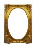 Marco brillante del oro imagen de archivo