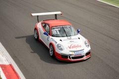 Marco CassarÃ, Porsche Carrera filiżanka 2015 przy Monza Fotografia Stock