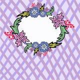 Marco celular de la flor Fotografía de archivo