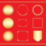 Marco chino 2 del Año Nuevo ilustración del vector
