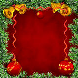 Marco Christmas-Karte Lizenzfreie Stockfotografie