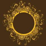 Marco circular Imágenes de archivo libres de regalías