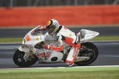 Marco colandrea, moto 2, 2012 Royalty Free Stock Photo