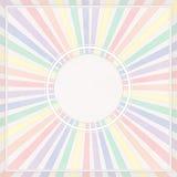 Marco coloreado redondo Imagen de archivo libre de regalías