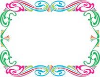 Marco colorido Fotografía de archivo libre de regalías