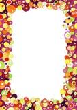 Marco colorido de las burbujas Fotografía de archivo libre de regalías