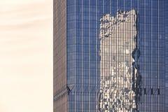Marco completo de la arquitectura de acero de cristal moderna fotos de archivo libres de regalías