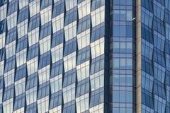 Marco completo de la arquitectura de acero de cristal moderna imagen de archivo libre de regalías