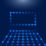 Marco con las luces LED Imagenes de archivo