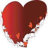Marco-corazón. Imagenes de archivo