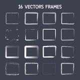 marco cuadrado del vector 16 Imágenes de archivo libres de regalías