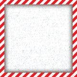 Marco cuadrado geométrico abstracto, con rojo y blanco diagonales Ilustración del vector Foto de archivo