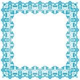 Marco cuadrado simmetric abstracto Fotografía de archivo