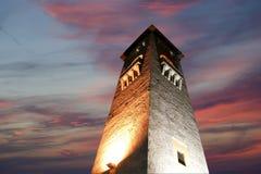 Marco da ilha do Rodes, porto de Mandraki, Grécia Fotos de Stock Royalty Free