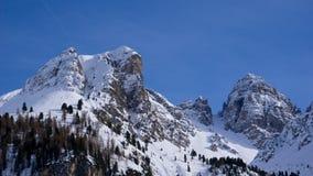 Marco da montanha em Tirol, Áustria fotografia de stock