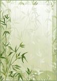 Marco de bambú del vector del bosque Fotografía de archivo libre de regalías