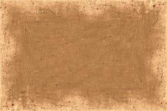 Marco de Brown foto de archivo libre de regalías