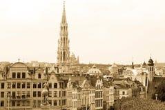 Marco de Bruxelas foto de stock royalty free