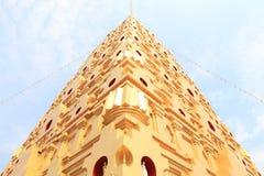 Marco de Buddhakaya Chedi de Sangklaburi Fotografia de Stock Royalty Free