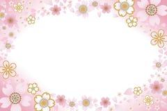 Marco de Cherry Blossom Foto de archivo libre de regalías