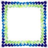Marco de cristal fotos de archivo