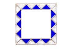 Marco de cristal cuadrado Imagenes de archivo