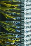 Marco de distribución del alambre fotos de archivo