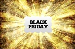 Marco de etiqueta de Black Friday Imagenes de archivo
