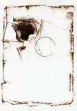 Marco de Grunge Fotos de archivo