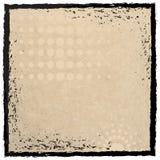 Marco de Grunge con la textura de papel Imágenes de archivo libres de regalías