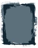 Marco de Grunge del vector Imagenes de archivo