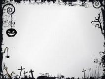 Marco de Grunge Víspera de Todos los Santos Imagen de archivo