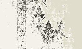 Marco de Grunge y serie de la frontera ilustración del vector