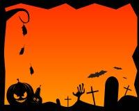 Marco de Halloween Foto de archivo libre de regalías