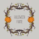 Marco de Halloween ilustración del vector