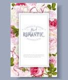 Marco de jardín romántico libre illustration