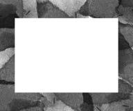 Marco de la acuarela Imágenes de archivo libres de regalías