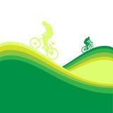 Marco de la bicicleta Ilustración del Vector