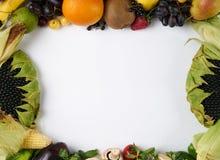 Marco de la comida Imagen de archivo libre de regalías