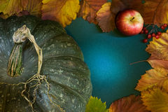 Marco de la cosecha del otoño Imágenes de archivo libres de regalías