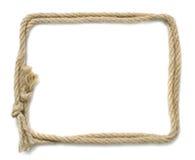 Marco de la cuerda fotos de archivo libres de regalías