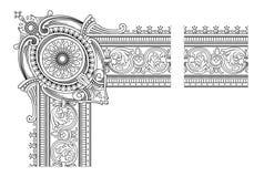 Marco de la decoración Imágenes de archivo libres de regalías