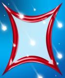 Marco de la estrella del día de fiesta Fotos de archivo