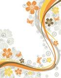 Marco de la flor Imagen de archivo libre de regalías