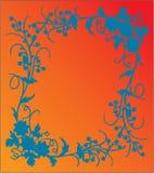 Marco de la flor libre illustration