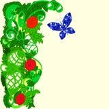 Marco de la flor de la fantasía Imagen de archivo libre de regalías
