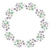 Marco de la flor para su diseño fotos de archivo