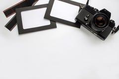 Marco de la foto con la cámara Fotografía de archivo libre de regalías