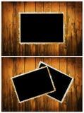 Marco de la foto de la vendimia Fotografía de archivo