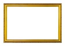 Marco de la foto de la vendimia aislado en blanco Fotografía de archivo libre de regalías